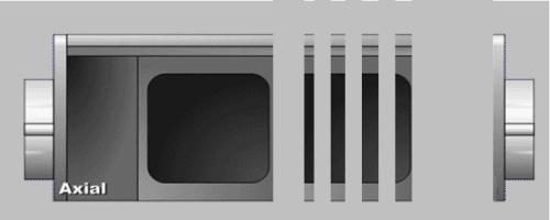 AH Meyer Netbox Axial Gehäuse für 4 Einsätze