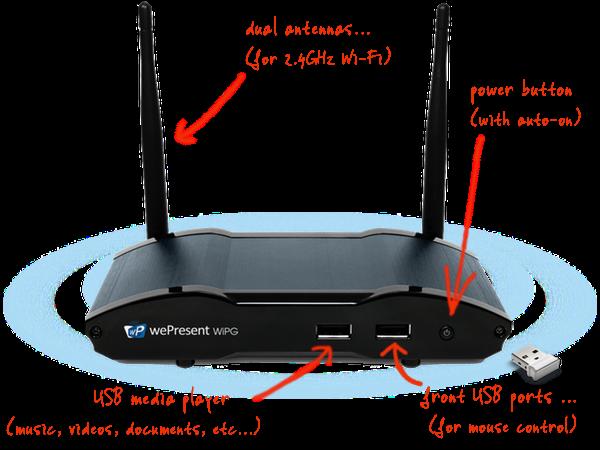 Barco WiPG-1600W WePresent