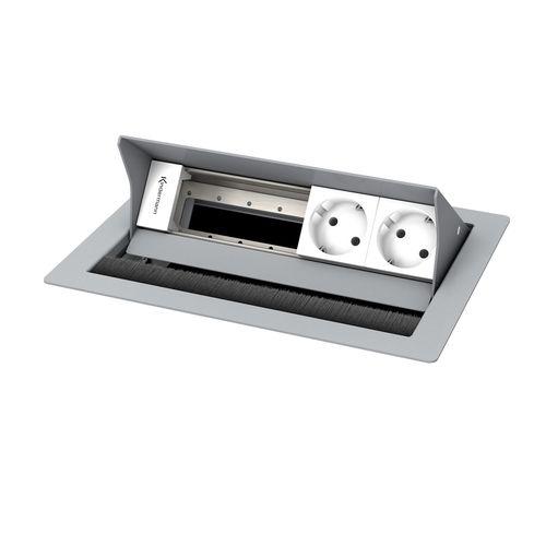 Kindermann CablePort standard² 4-fach, 2 x Strom